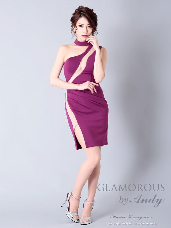 GLAMOROUS ドレス GMS-V596 ワンピース ミニドレス Andyドレス グラマラスドレス クラブ キャバ ドレス パーティードレス