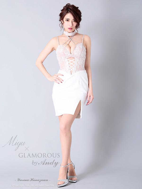 GLAMOROUS ドレス GMS-M624 ワンピース ミニドレス Andyドレス グラマラスドレス クラブ キャバ ドレス パーティードレス