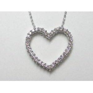 注目ブランド K18WGダイヤ ペンダント ネックレス, LOWTEX PLUS 414b4523