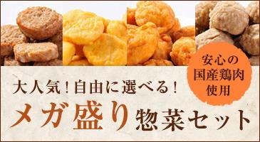メガ盛り惣菜セット