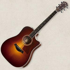 【即日発送】 Taylor Guitars(テイラー)「Taylor 710ce VSB(ヴィンテージ・サンバースト) ピックアップ搭載 (w / Electric)&カッタウェイ・モデル」エレクトリック・アコースティックギター【送料無料】, 足助町 6b1bc708