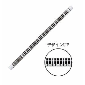 鍵盤鉛筆ホワイトtimes 10本セットNPC 60 NKB W >>>MUSIC FOR LIVING ステーショナリー文具【送料無料】