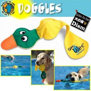 犬用 Doggles 水に浮く 水遊び用おもちゃ ゲット・ウェット イエロー ダック(あひる)ドグルズ ドグルス アメリカ正規品 翌日お届け対応
