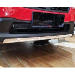 全ての AL 車用メッキパーツ スバル XV GT3 GT7 2017 2018ステンレス スチール フロント&リアバンパースキッドプロテクターガードプレート カバー フレーム2ピース AL-AA-2731, ヒガシソノギグン ecf863aa