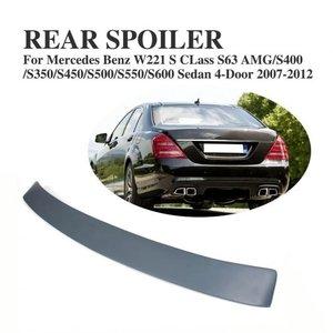 買取り実績  AL 車用外装パーツ リア ルーフ スポイラー テール ウインドウ ウイング 適用: メルセデスベンツ Sクラス W221 S63 AMG セダン 4ドア 2007-2012 ABS グレー AL-DD-8169, 天然石パワーストーンMitsukey 305c19a7
