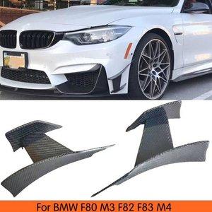 格安販売中 AL 車用外装パーツ 6個 リアル カーボンファイバー フロント バンパー個 スプリッタ 適用: BMW M3 M4 F80 F82 F83 フロント サイド フェンダー 2014-2018 AL-DD-8781, オオザトソン 8e36ef50