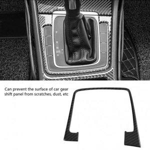 【ふるさと割】 AL 車用内装パーツ カーボンファイバー コンソール ギア シフト パネル トリム カバー フレーム 適用: GOLF7 2014-2019 ステッカー AL-DD-9070, 曽我乃正栄堂 36fca9a1