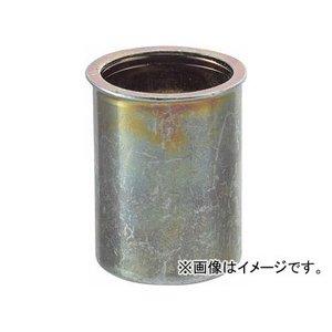 トラスコ中山/TRUSCO クリンプナット薄頭スチール板厚1.5 M4×0.7 1000個入 TBNF4M15SC(3021386) JAN:4989999245875