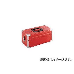 有名ブランド 前田金属工業/TONE ツールケース(メタル) V形2段式 V形2段式 433×220×195mm レッド 433×220×195mm BX322(3904334) JAN:4953488220544 取り寄せ商品のため納期確認後に発送, 四賀村:0802dca6 --- frmksale.biz