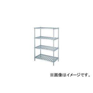 人気ブランドの シンコー/SHINKOHIR ステンレスラックスノコ棚4段 RS46045, DEPOS(デポス) 9cafdf6d