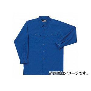 ラカン 長袖シャツ(薄地) ブルー Big 5904
