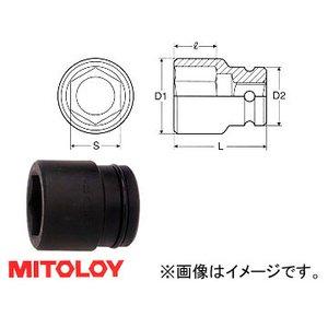 """新発売 ミトロイ ミトロイ/MITOLOY/MITOLOY 1-1/2""""(38.1mm) インパクトレンチ用 ソケット(スタンダードタイプ) 6角 1-1/2"""