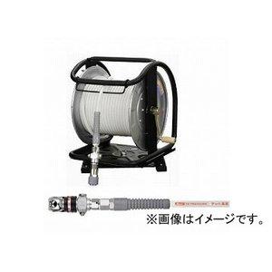 爆売り! フジマック/FUJIMAC 高圧用C型ドラム(スムージーホース付) オートロックスウィングダスターソケット スチール ホワイト 30m WHDALB-630C JAN:4984546603368, アジガサワマチ a1e1b295