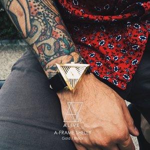 春のコレクション ALIVE アライブ 腕時計 メンズ A-FRAME SHELLY アライブ Gold SHELLY/Black アライブ ALIVE 腕時計 メンズ スポーツ アウトドア ビジネス, W Pocket:781ec8f0 --- blog.buypower.ng
