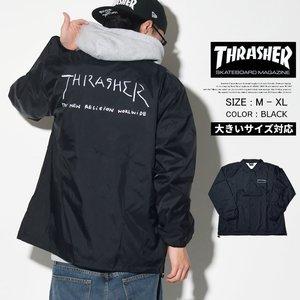 【メーカー包装済】 THRASHER×MARK GONZALES コラボ スラッシャー×マークゴンザレス コーチジャケット メンズ コラボ スケーター スケーター ファッション SK8 SK8 スケボー THRASHER/スラッシャー/コーチジャケット/アウター/ブルゾン, CLICK SURF SHOP:73ee0082 --- blog.buypower.ng