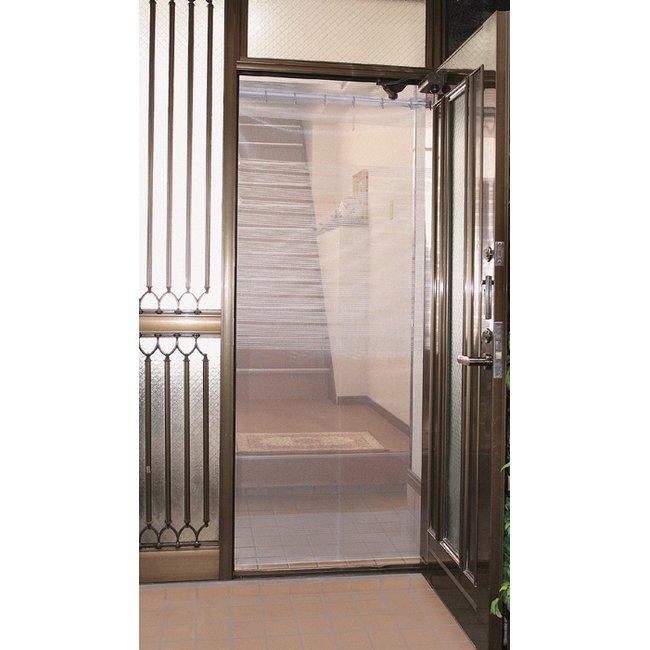 カーテン 玄関 網戸