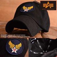 9d6408e48d70d Alpha Industries アルファ・インダストリーズ ローキャップ キャップ 帽子 メンズ レ.