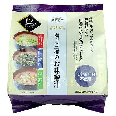成城石井 選べる三種のお味噌汁 12食(3種×4食) - techsquared.co.za