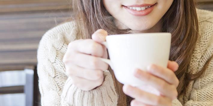 焼き立てのコーヒーの香りでホッと一息