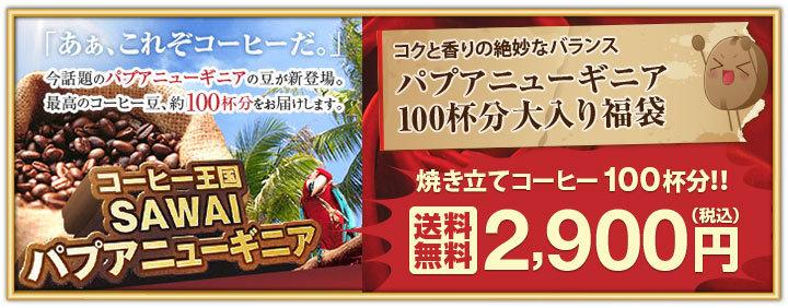 パプアニューギニア100杯分福袋