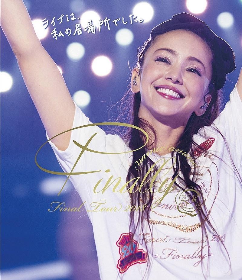 namie amuro Final Tour 2018 ~Finally~(東京ドーム最終公演+25周年沖縄ライブ)(通常盤)(Blu-ray Disc)