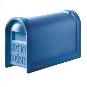品質検査済 タマヤ スタンドタイプ ポール取付け T33-501 『郵便ポスト』 ブライトブルー, 健康エリートハウス 0f63139a