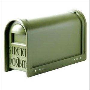 【メーカー直送】 タマヤ スタンドタイプ ポール取付け T33-502 『郵便ポスト』 オリーブ, 門司区 7066d6d3