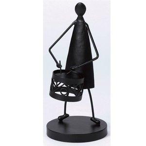【絶品】 ジャービス商事 装飾アイテム アイアン人形 ドラム #35356   【ジャービス商事】お庭や玄関をオシャレにします。, 西津軽郡:d6e7142a --- abizad.eu.org