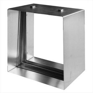 2020年春の セブンホーム ステンドグラス ピュアグラス オプション Eサイズ 専用ステンレス枠 シルバー 『単品価格』, 氏家町 13e18929