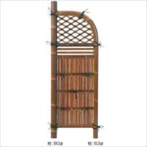 【おすすめ】 タカショー 合成竹製品 GO-84 合成すす竹玉袖垣 3尺/ W900×H1700 #10121400 『竹垣フェンス 柵』  送料無料 【タカショー】伝統の技を感じさせるディテールへのこだわりが違います, 腕時計専門店 Brandol:5cc603fd --- turkeygiveaway.org