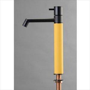 【タイムセール!】 オンリーワン デザイン水栓/マニル ブラックめっき ロング TK4-1LKPG ポタージュ, 川島町 c87233e3