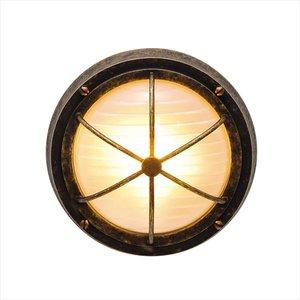 【おしゃれ】 オンリーワン 真鍮製ポーチライト BH3000 AN FR LE くもりガラス(LED仕様) 古色仕上 GI1-700326 『エクステリア照明 マリンライト』, 贈り物 9220a38b