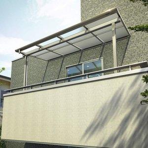 大人気の YKKAP 躯体式バルコニー屋根 ソラリア Bタイプ 柱奥行移動タイプ 1間×3尺 フラット型 ポリカ屋根 関東間 600N/m2 中間取付金具セット付  送料無料 【YKKAP】戸建住宅の躯体式バルコニーに屋根を取付けるタイプです。バルコニーの用途が広がります, 剪定鋸のSAMURAIサムライ:53cb0862 --- pyme.pe