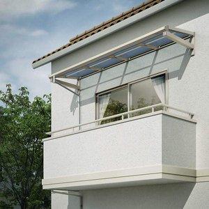 【超ポイントバック祭】 YKKAP 持ち出し屋根 ソラリア 1間×3尺 フラット型 熱線遮断ポリカ屋根 関東間 600N/m2 上から施工  送料無料 【YKKAP】柱のないスッキリとした特徴の持ち出し屋根。狭いスペースにも設置可能, sawa a la mode サワアラモード:87ae01a6 --- mashyaneh.org