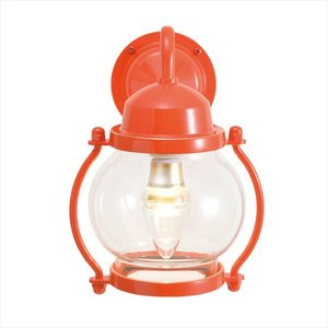 【絶品】 オンリーワン 真鍮製ポーチライト BR1700 クリアーガラス(LED仕様) GI1-750214 『エクステリアライト 屋外照明』 60'sオレンジ, カミニイカワグン 7fc15703