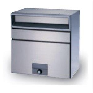 古典 田島メタルワーク MX-303FW-HL(壁付けタイプ)ステンレス ランチロック錠 『郵便ポスト』 へアライン, イググン b909b44c