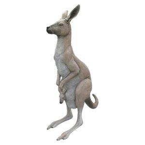 日本未入荷 FRP カンガルーの親子/ Kangaroo 『動物園オブジェ/ アニマルオブジェ 店舗・イベント向け』 送料無料 【FRP】袋の中からひょっこり顔を出している子カンガルーがかわいい, 帽子屋かぶりた屋:c302b2da --- move-you.com