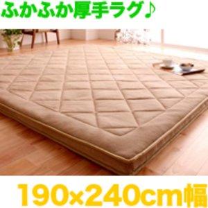 日本未入荷 厚さ5cm!マイクロファイバーラグ190×240cm 極厚絨毯 床暖房対応マット 滑止付 ホットカーペット対応 極厚絨毯 滑止付 厚手のラグマット 床暖対応ふかふかカーペット, CRAFT HOUSE:f17473ec --- frmksale.biz
