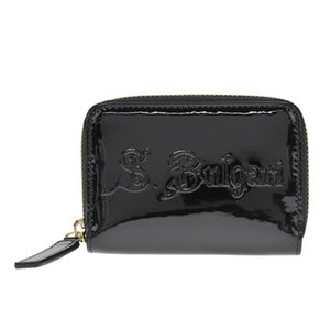一流の品質 ブルガリ BVLGARI 小銭入れ コインケース コインパース 31711 Mini zipped wallet S.BULGARI ソティリオブルガリ Black ブラック, マクロビオティック シードリーフ 0d5fe8b0