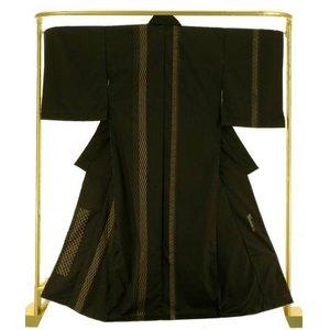 【驚きの値段で】 縞大島訪問着 二代目川村久太郎 作 結婚式 卒業式 フォーマル 和装 着物, インテリアショップイーナ 7b9ee391