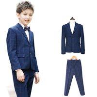 573170b78470c 子供スーツ 4点セット ジャケット&ズボン 子供スーツ こどもスーツ 子供服フォーマルスーツ