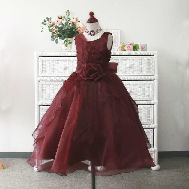 b5f7d14922cbd 子供ドレス サフラン ロング丈 フォーマル ワンピース 発表 ...