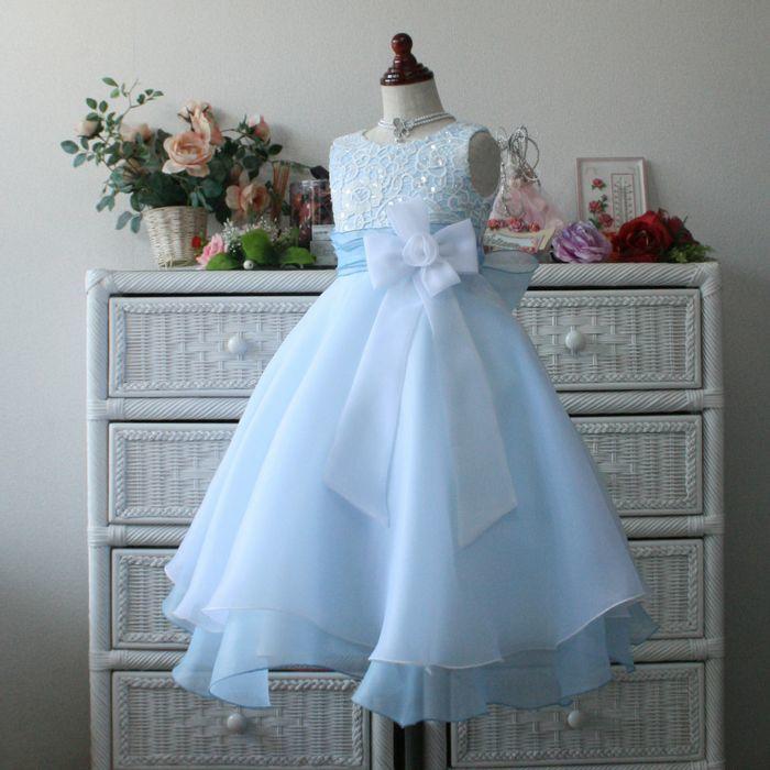 5840ad7bd1fa2 子供ドレス 高品質レースドレス アナベル キッズドレス プリ...|ファーストレディ ポンパレモール