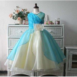 411e364bade7a 子供ドレス サフラン(ブルーハワイ) 結婚式 バレエ衣装 発...|ファーストレディ ポンパレモール