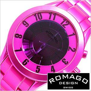全日本送料無料 送料無料 [即納]ロマゴデザイン腕時計 [ ROMAGODESIGN時計 ]( ROMAGO DESIGN 腕時計 ロマゴ デザイン 時計 ) スーパーレジェーラ ( Super leggera ) /メンズ時計/ピンク/RM028-0287AL-PK, asian closet a2eb71be