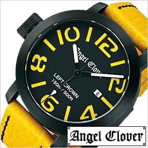 高品質の人気 送料無料 ) [即納]エンジェルクローバー腕時計 [ [おしゃれ AngelClover時計 ]( Angel Clover 腕時計 クローバー エンジェル クローバー 時計 ) レフト クラウン ( Left Crown ) メンズ腕時計/ブラック/LC45BYE-YE [おしゃれ 150m防水 イエロー] [送料無料!!][ポイント10%!!], PDスキークラブ365:3cd5540d --- showyinteriors.com
