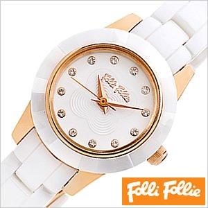 暮らし健康ネット館 送料無料 [即納]フォリフォリ腕時計[ FolliFollie腕時計 ]フォリフォリ 時計 FolliFollie 時計 フォリフォリ 腕時計 Folli Follie フォリ フォリ 腕時計 フォリフォリ時計 ミニセラミック MINI CERAMIC/レディース/ホワイト WF2R028BSS [ピンクゴールド/セラミック/新作], インポートショップLARIA 69af99ec