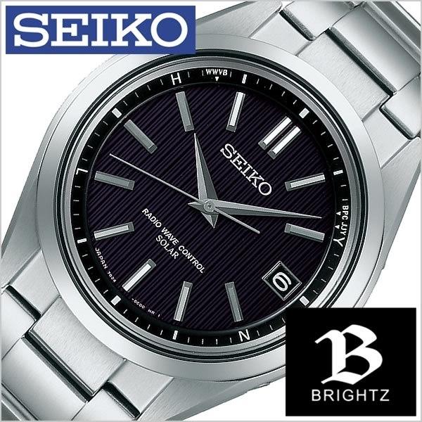 buy popular 0b635 c914f 送料無料 セイコー腕時計 SEIKO時計 SEIKO 腕時計 セイコー 時計 ブライツ BRIGHTZ メンズ/ブラック SAGZ083 [チタン  ...