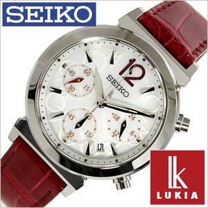 新しいブランド 送料無料 セイコー腕時計 [ SEIKO時計 ]( SEIKO 腕時計 セイコー腕時計 セイコー 時計 SEIKO時計 [革 ) ルキア ( LUKIA ) レディース/腕時計/ホワイト/SSVS017 [革 ベルト/クロノグラフ/正規品/防水/ソーラー/シルバー/ゴールド/レッド] [送料無料!!], 子供服の赤ちゃんや:f1c63f08 --- ancestralgrill.eu.org