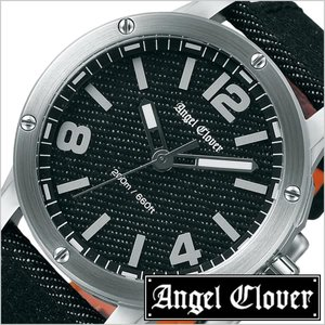 美品  送料無料 腕時計 エンジェルクローバー 腕時計 腕時計 AngelClovver時計 ( AngelClover 腕時計 エンジェルクローバー 時計 オレンジ ) エクスベンチャー SENSEコラボレーション メンズ 腕時計 ブラック EV46SBK-BD [革 ベルト 正規品 ダイバー シルバー オレンジ デニム 限定 300本 おしゃれ], キヅチョウ:787cb656 --- stratagemfx.com